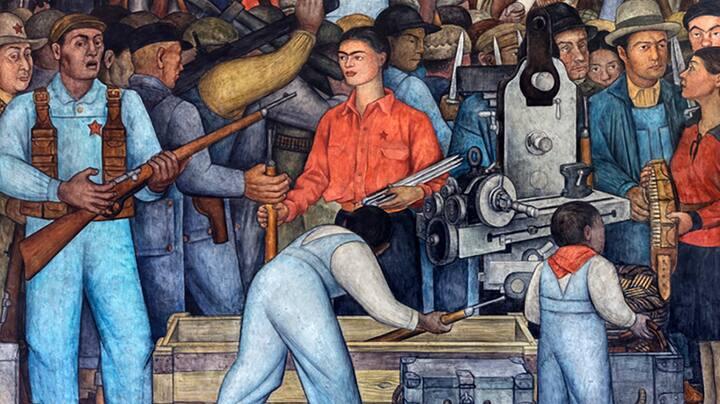 Frida Kahlo at the Arsenal
