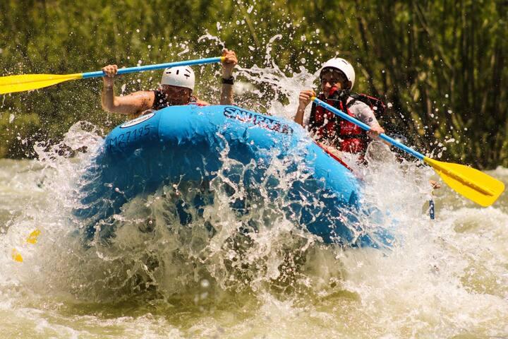 Rafting rio Atuel