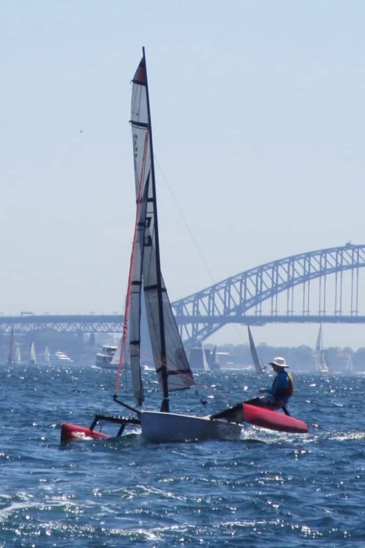 Great view of Sydney Harbour Bridge