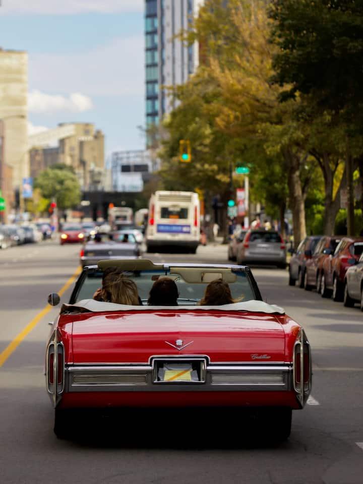 Cruising downtown