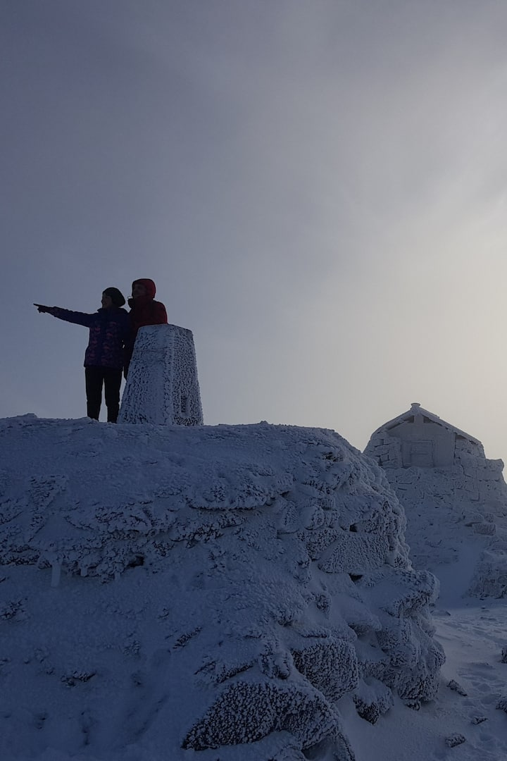 The highest point of UK