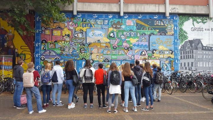 Street Art Tour Ehrenfeld mit der Schule