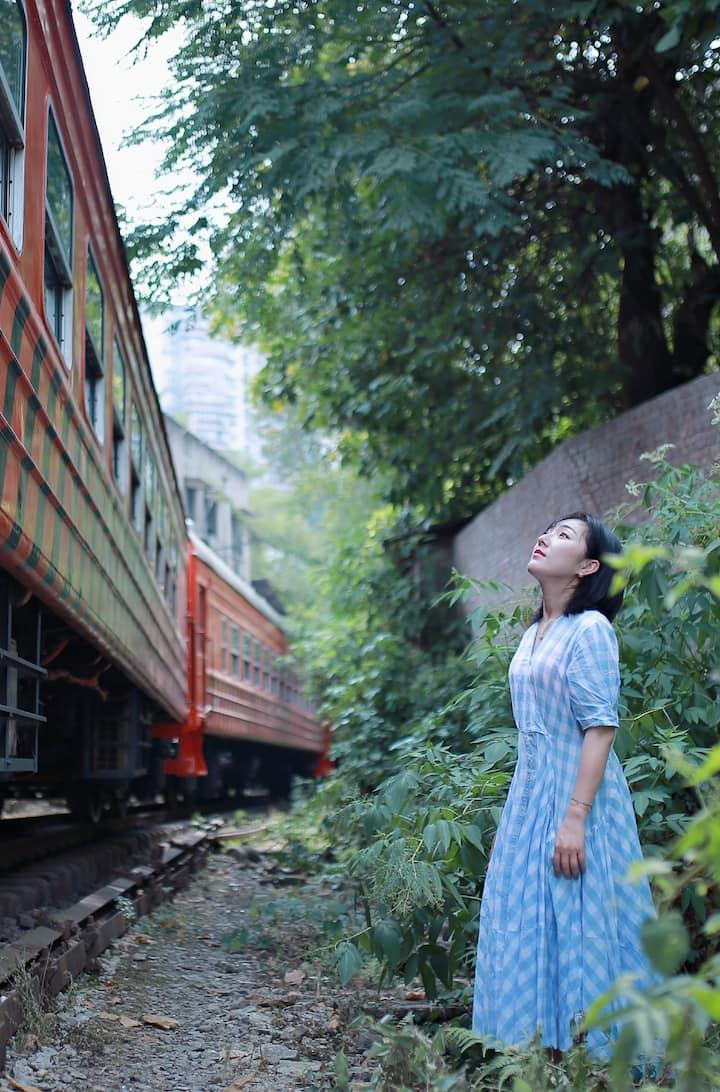 铁路村的火车