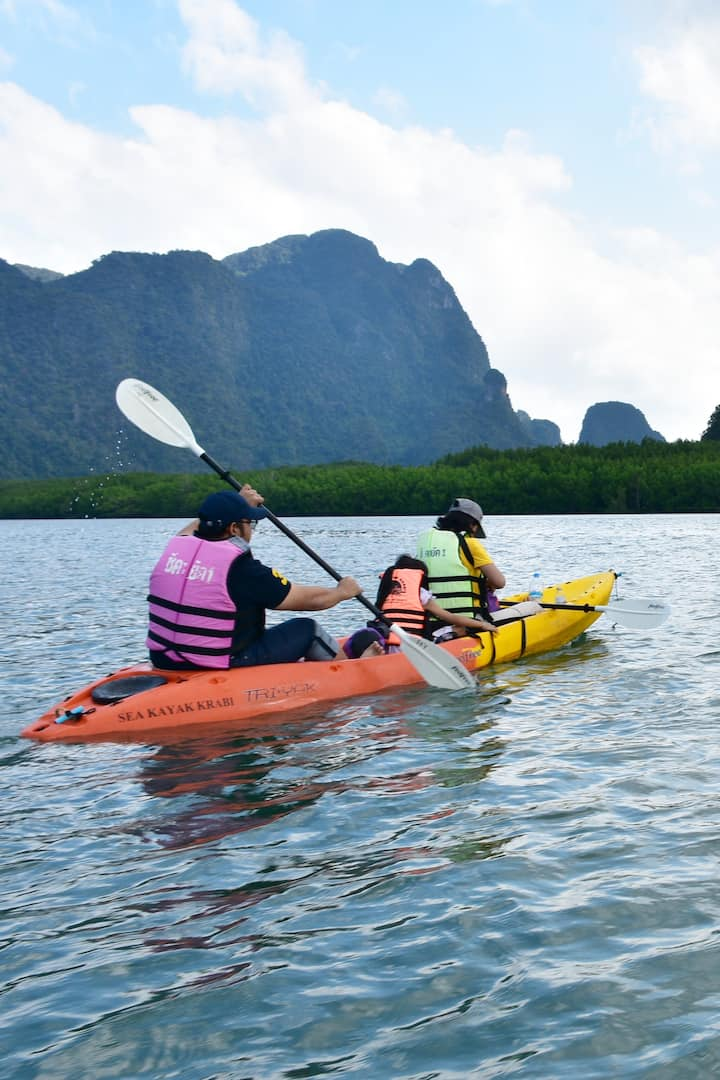 Head over the bay to limestone canyons