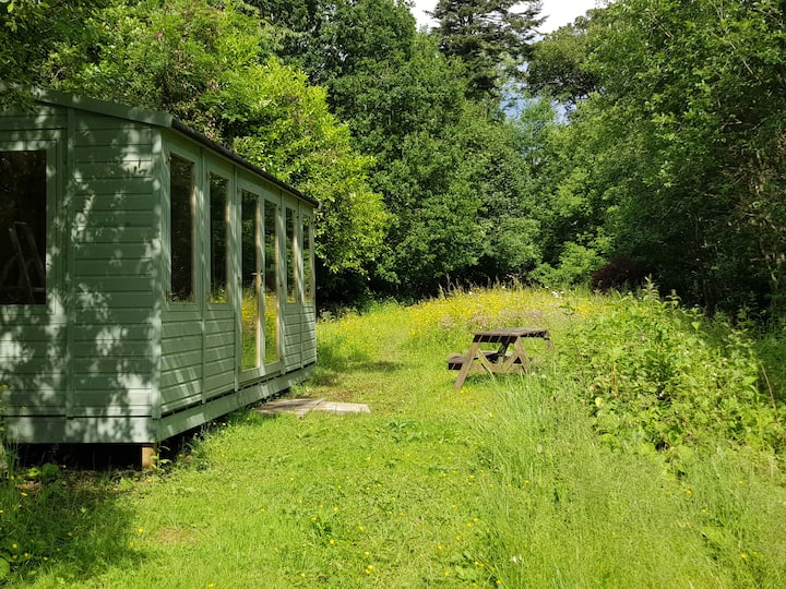 Our summerhouse classroom