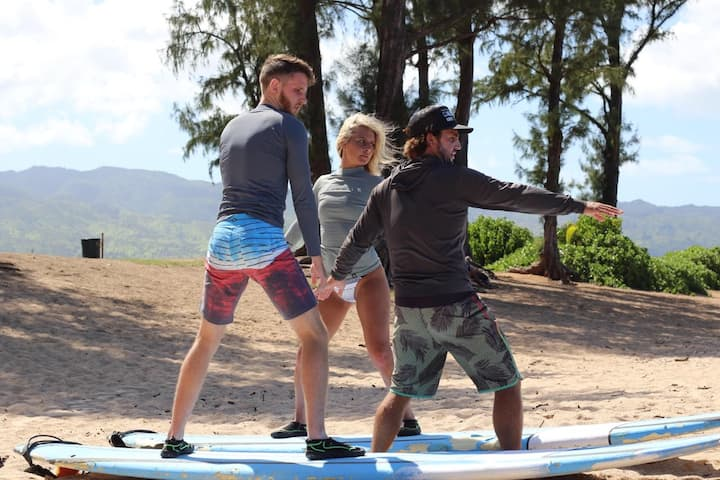Surfing Basics/Land Lesson