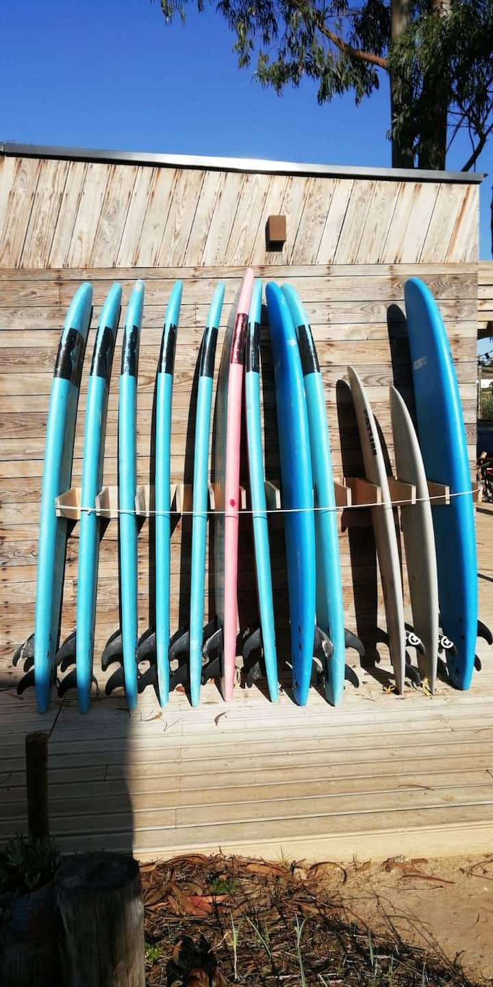 Soft and hard boards