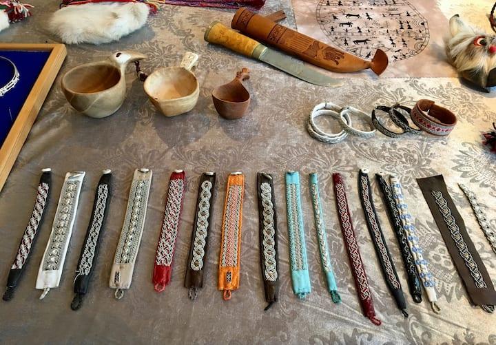 Beautiful Sami bracelets for sale
