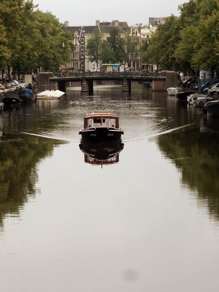 Canal mirror