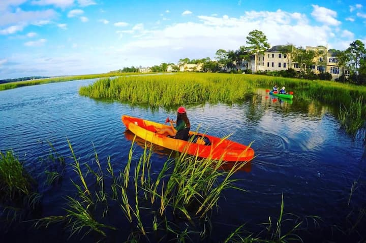 Kayaking through the Marshes