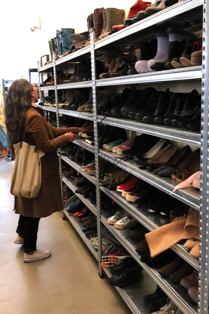 So many shoes!