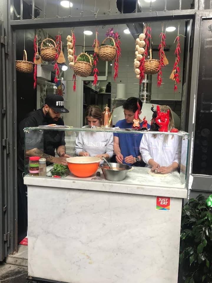 Food tasting Tour of Naples by Vespa