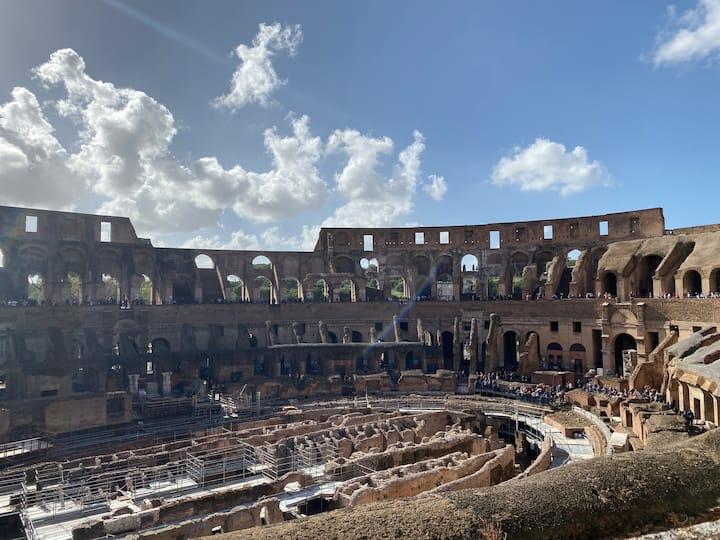 Colosseum second level