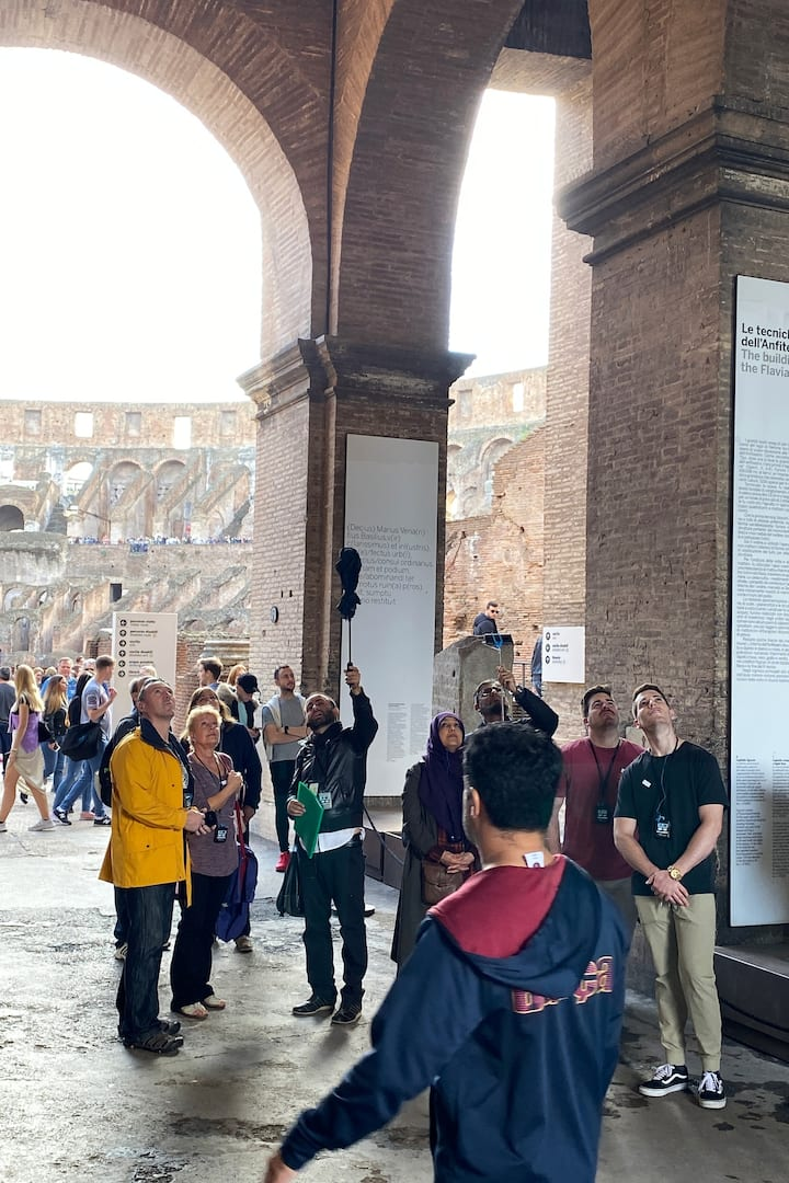 First level of the Colosseum
