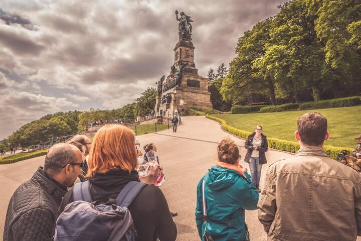 Besuch am Niederwalddenkmal