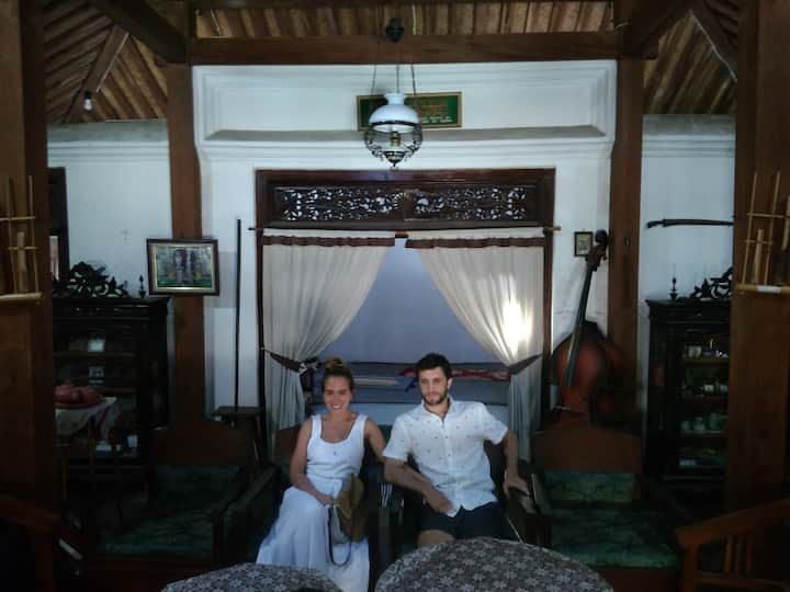 inside the javanese private house
