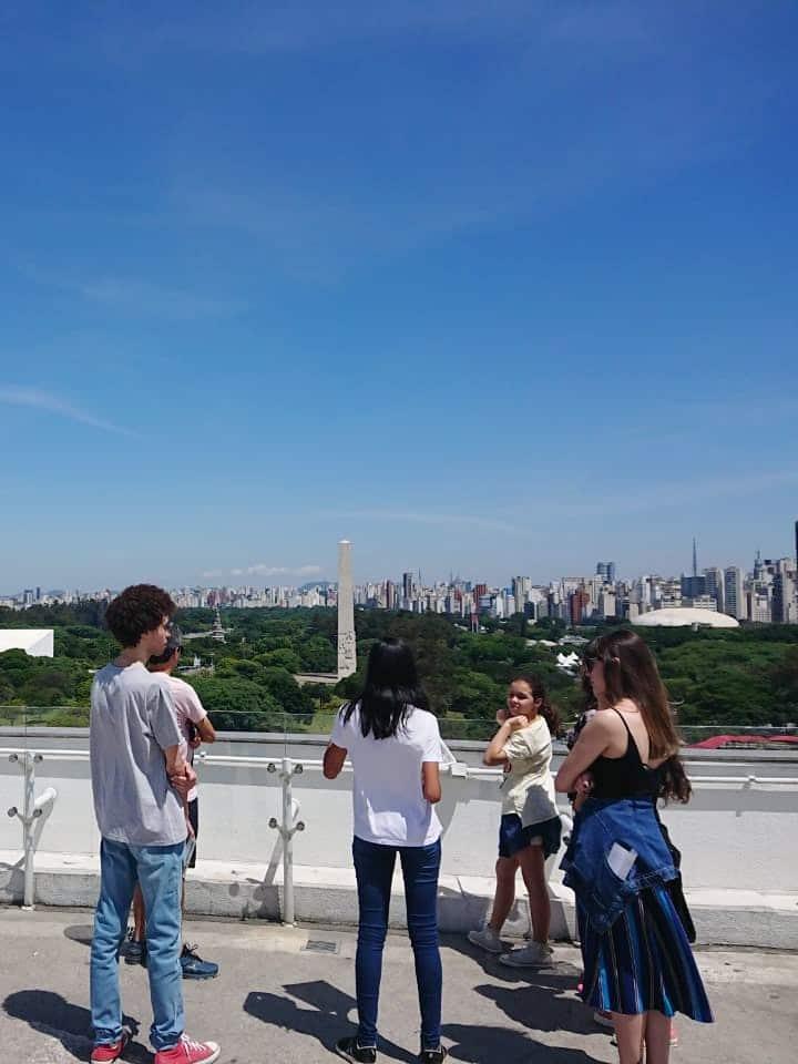 Vista do Museu de Arte Contemporânea