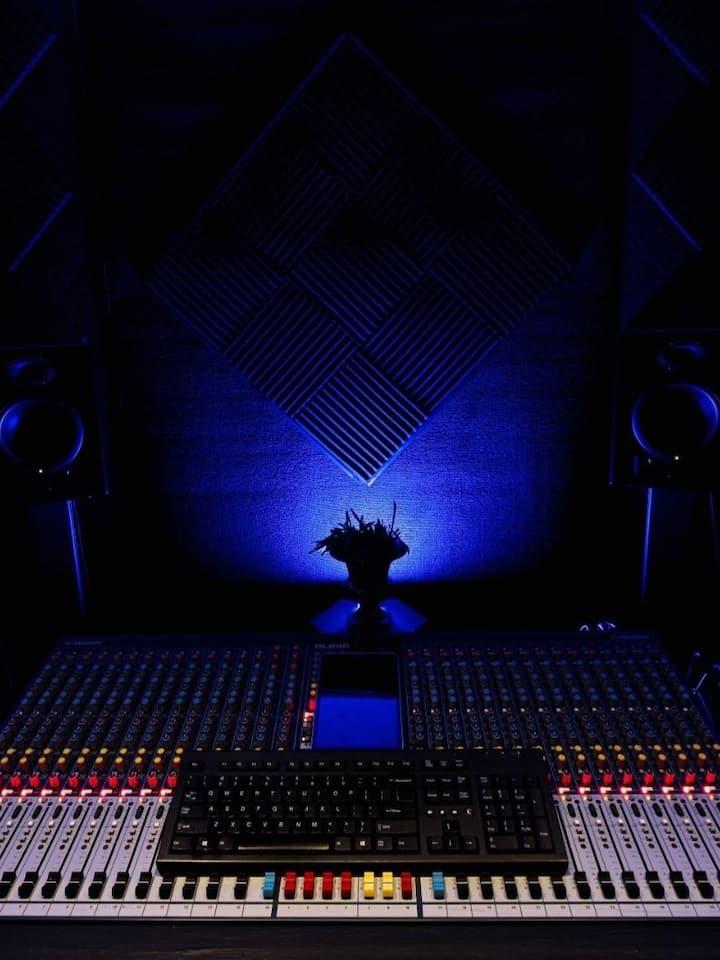 Studio Mixing Table