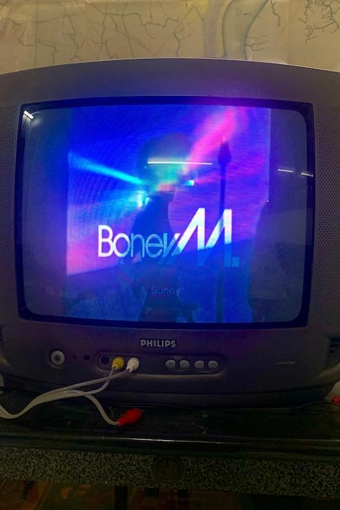Mostra l'immagine fornita dall'host a schermo intero