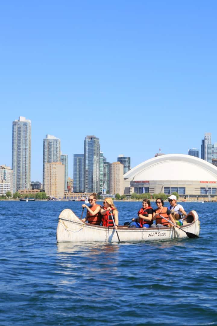 Toronto's best canoe trip