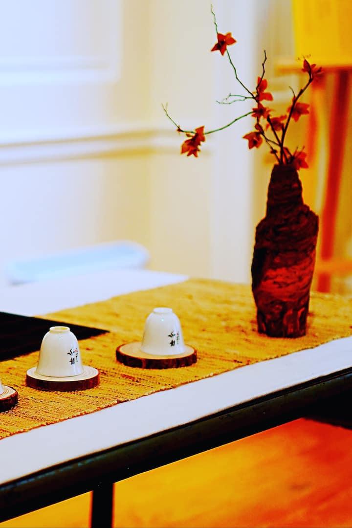 "Tea Table Decoration, Theme ""Autumn"""
