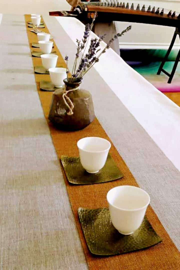 Tea Table for Guests