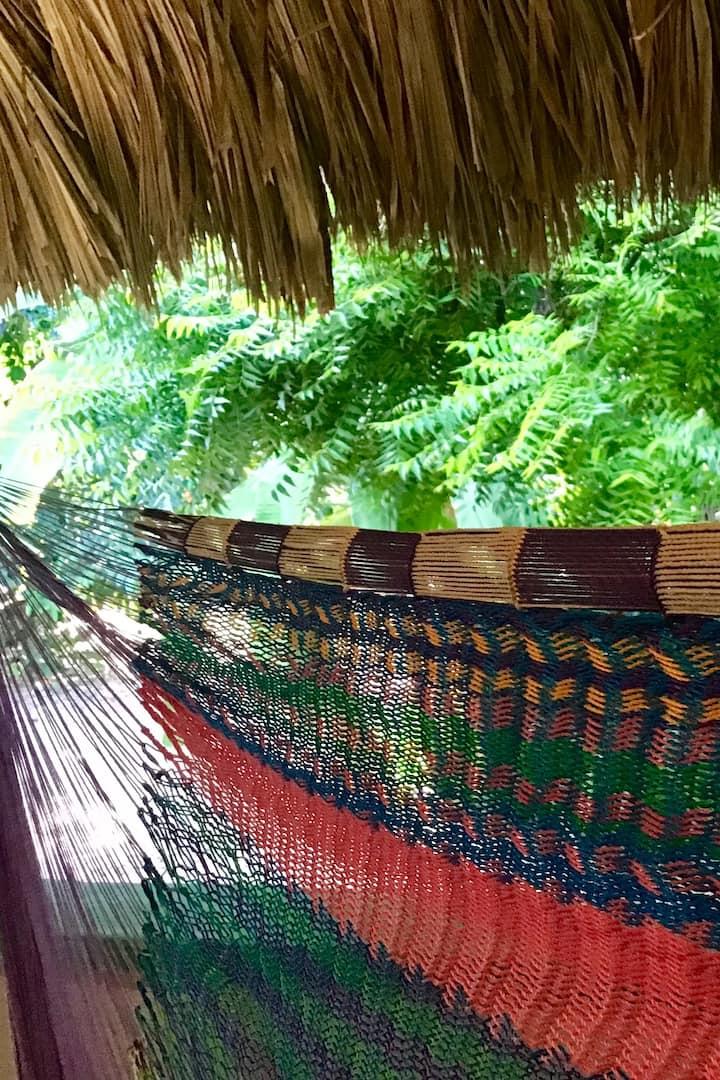 Colourful hammock - Natural Mayan bed