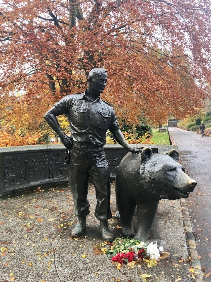 Wojteck, Edinburgh's WWII Bear Soldier