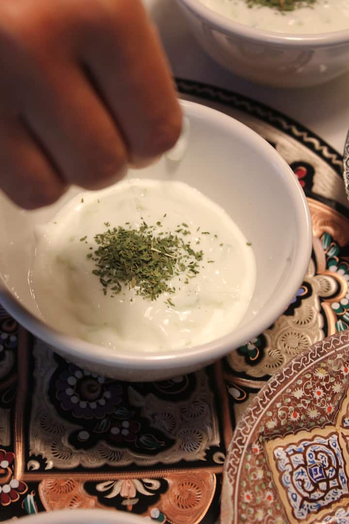 Yogurt&cucumber dip