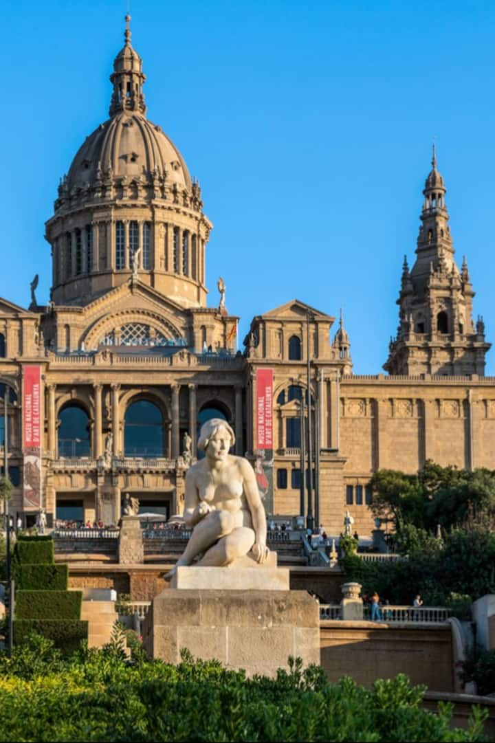 The National Museum of Art of Catalunya