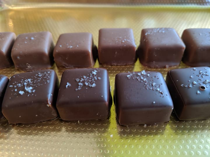 sample handcrafted chocolates