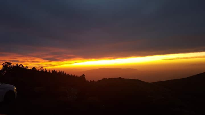 La Gomera at sunset