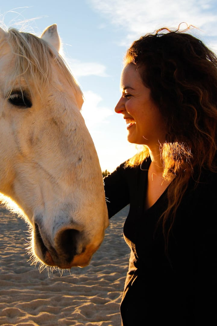 Experience joyful connection with horses