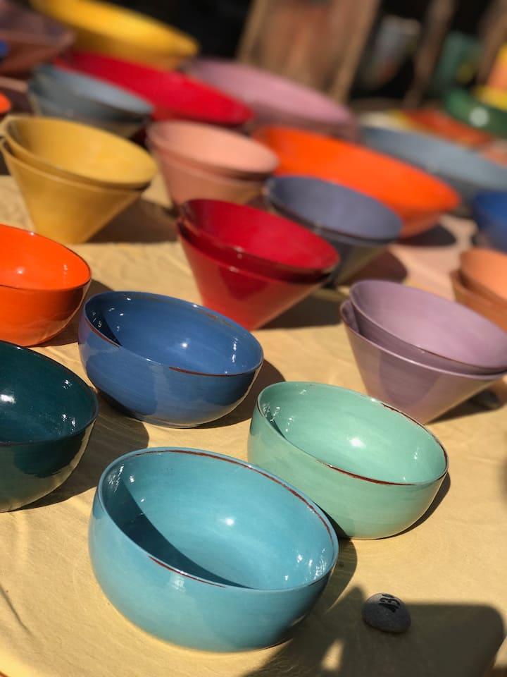 Cassis ceramics