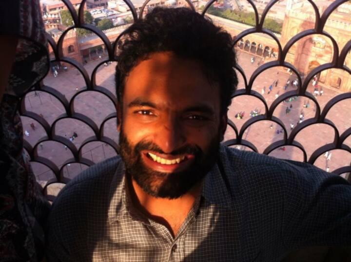 On top of Jama Masjid