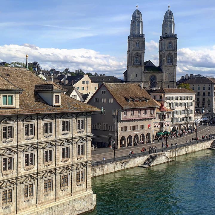 Grossmünster: A legend on its own.