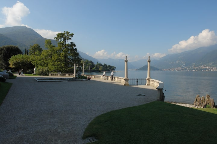 View from Villa Melzi
