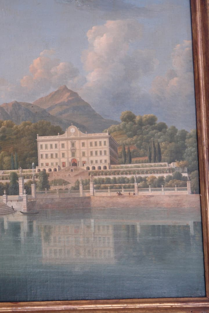 Painting in Villa Carlotta