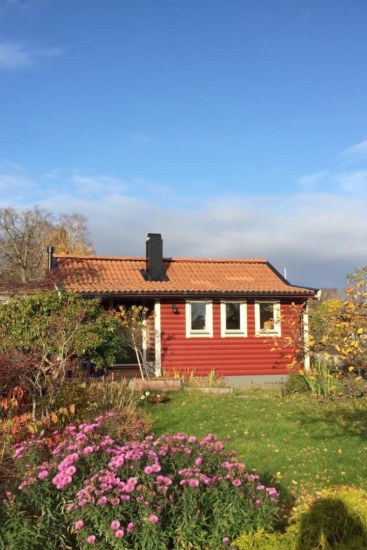"""Swedish cottage, """"kolonistuga"""""""