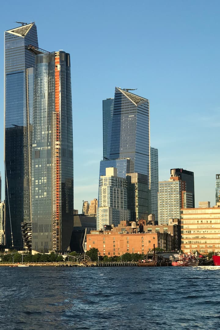 Ever changing NYC skyline