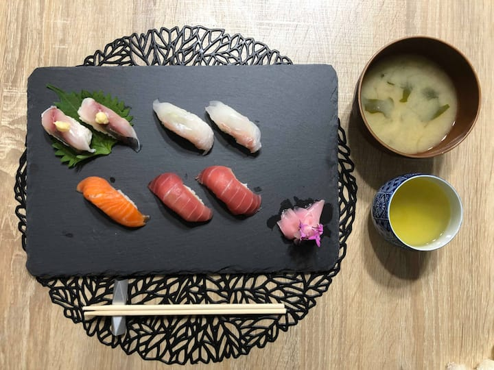 Beautiful Sushi Presentation