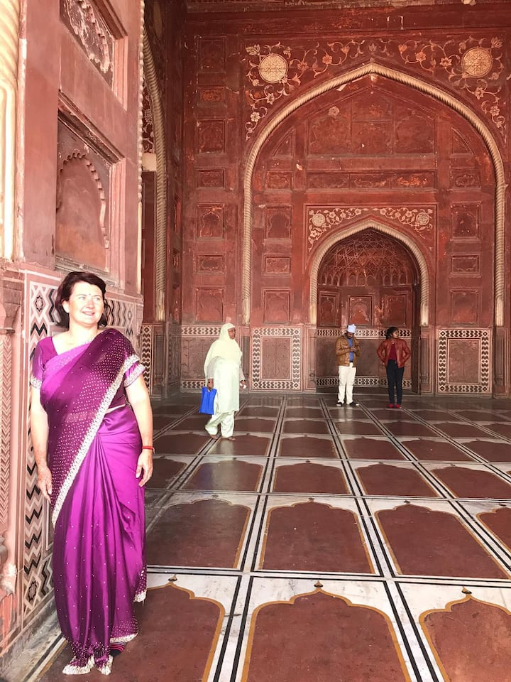 Inside the Taj