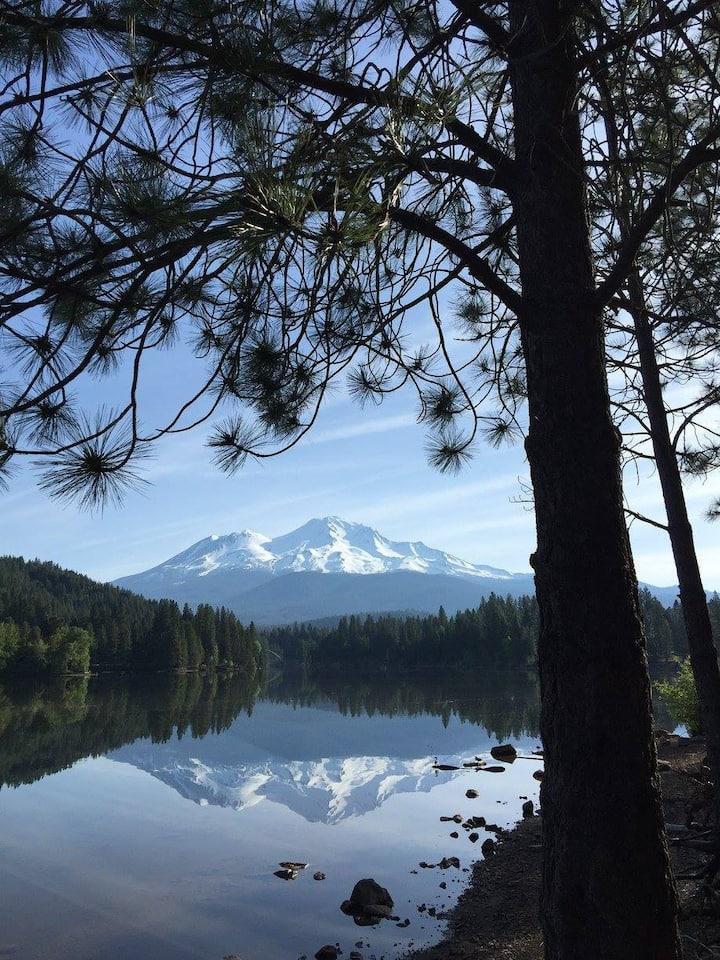 Learn Composition on Lake Siskiyou