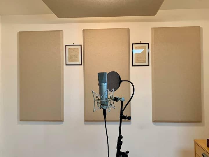 Remodeled studio