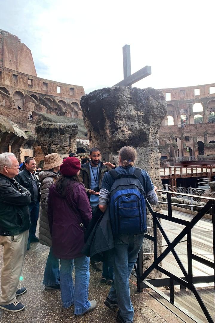 Inside the Colosseum Ground Floor