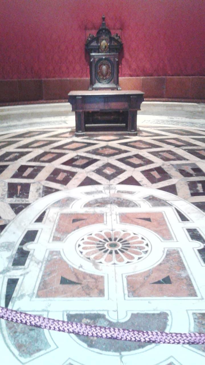 Sala Capitular, 1 capilla oval de España