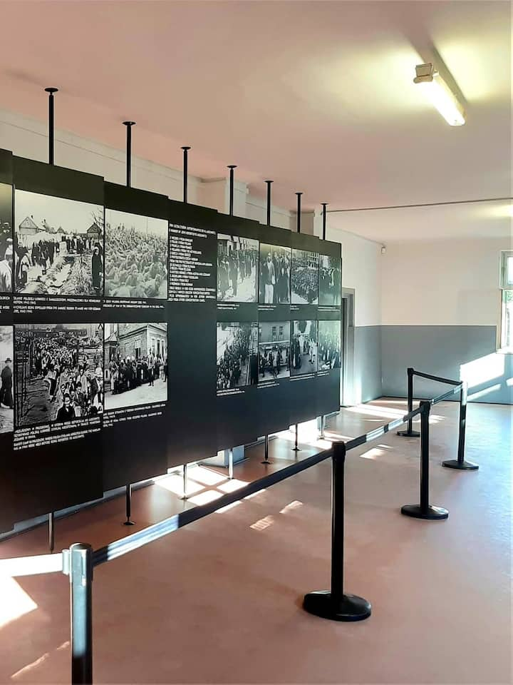The exhibition in the museum.