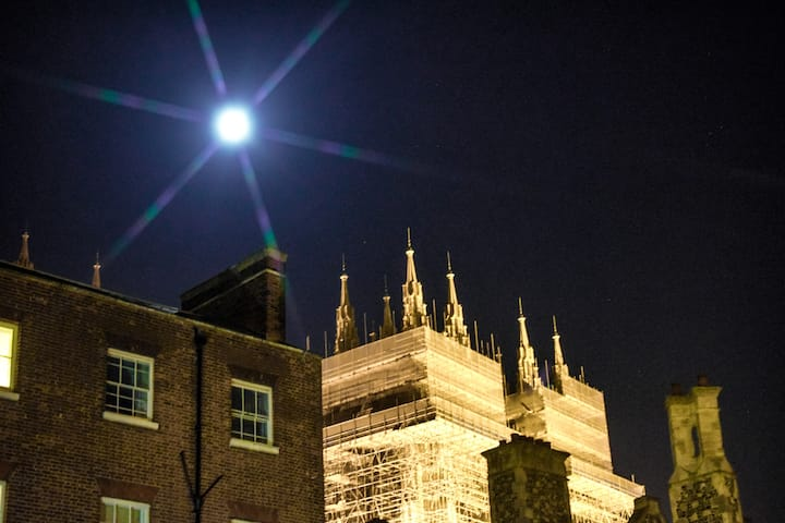 Moonlight over Cathedral