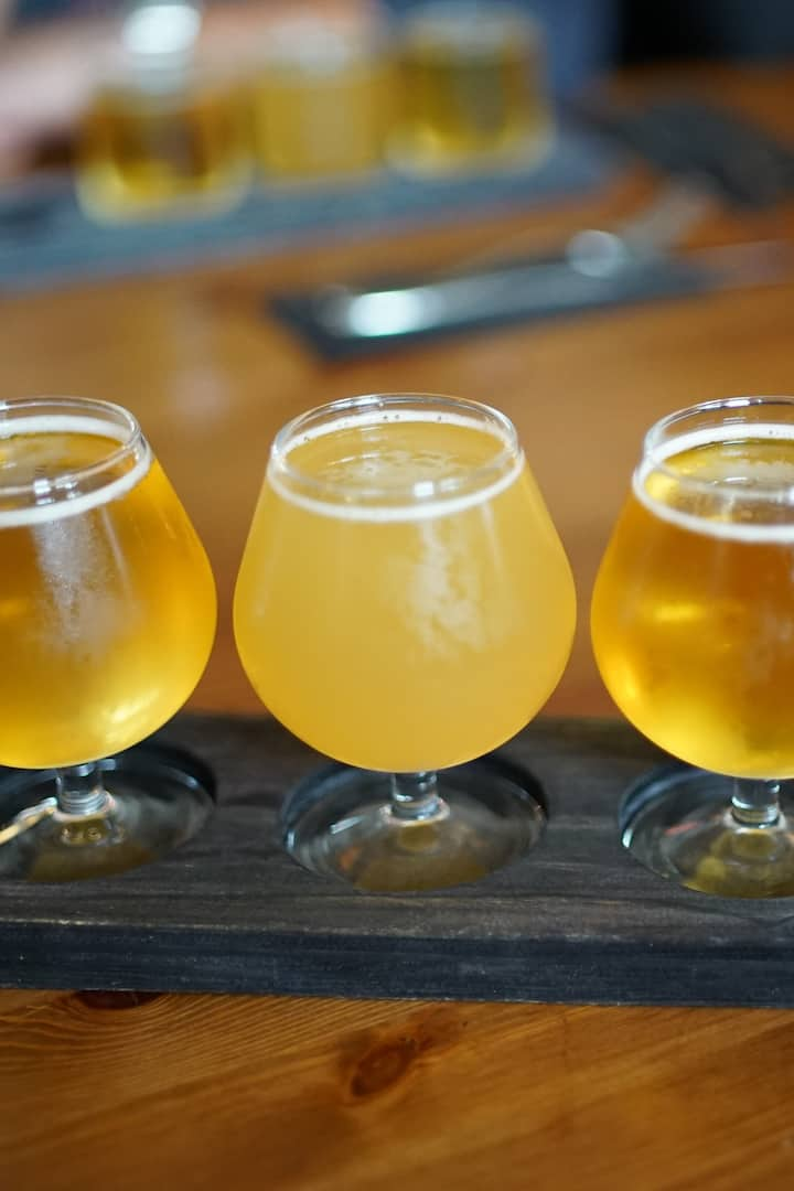 Different Icelandic Craft Beers
