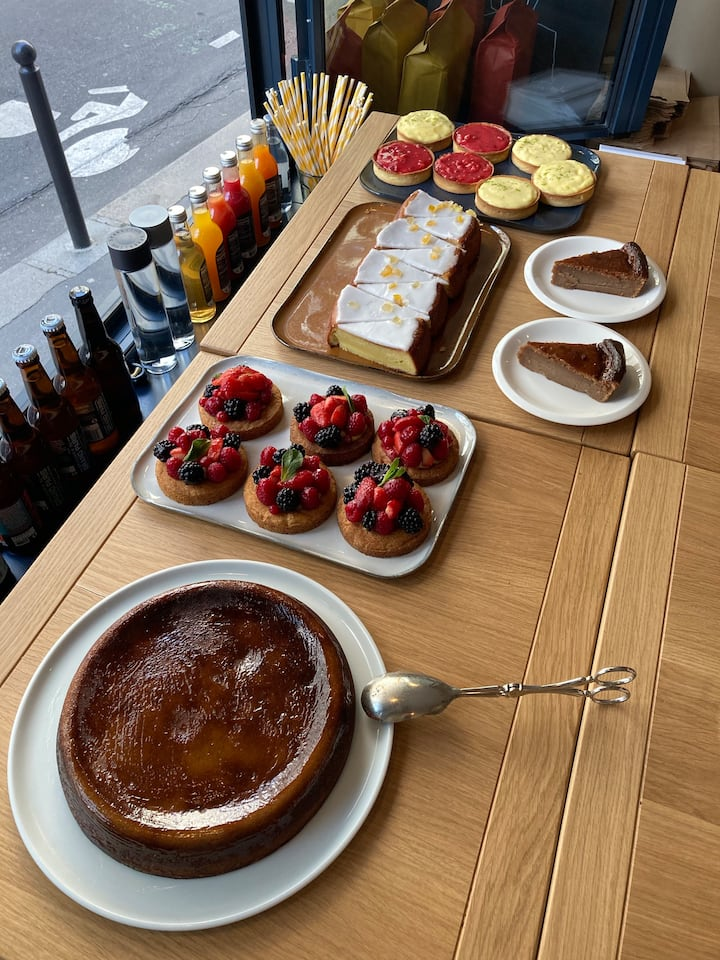 Meet the local café owners over a pastry